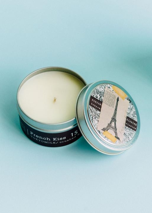 TokyoMilk French Kiss Travel Candle