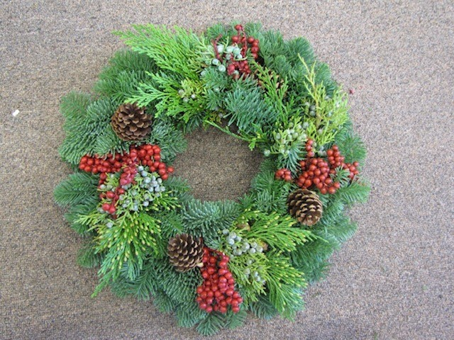 Candle Canella Wreath