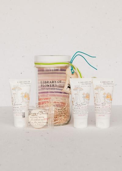 Library Of Flowers-  Willow & Water Bath Goods