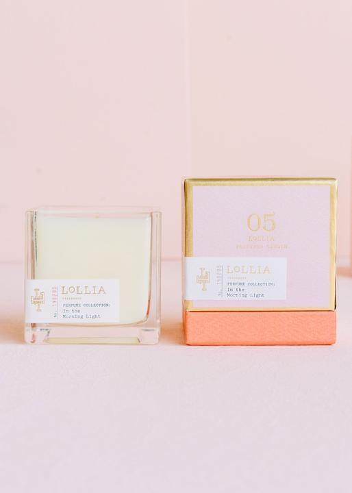 In The Morning Light Poetic License Candle