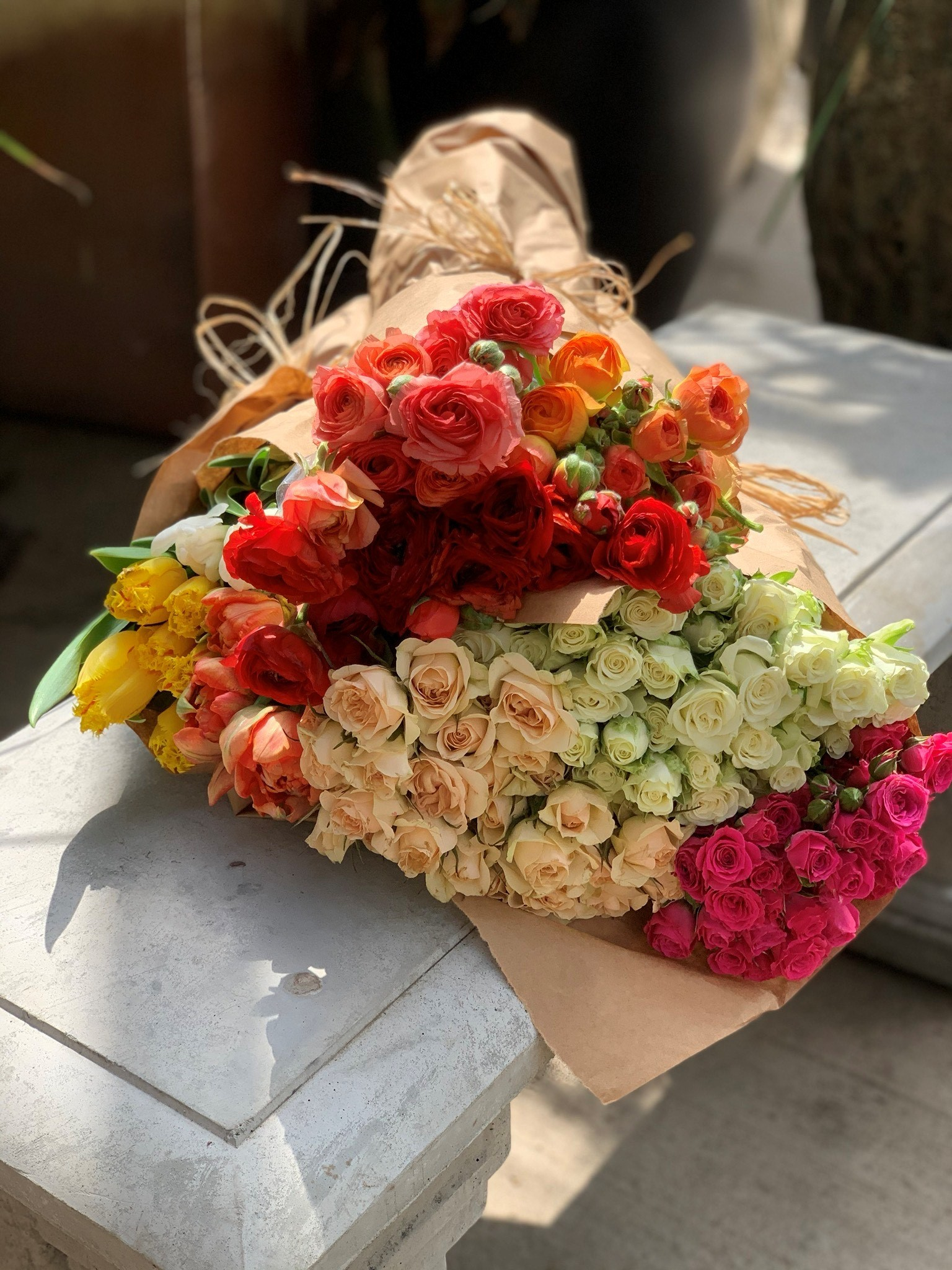 Loose Florals/ Wrapped Bouquets