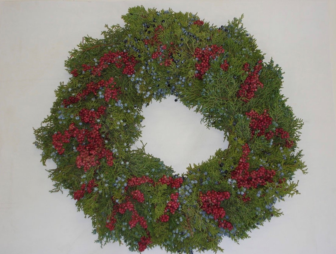 Pepperberry Juniper Wreath