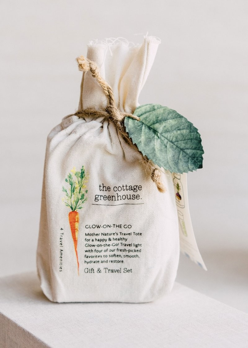 The Cottage Greenhouse- Veggies Gift & Travel Set