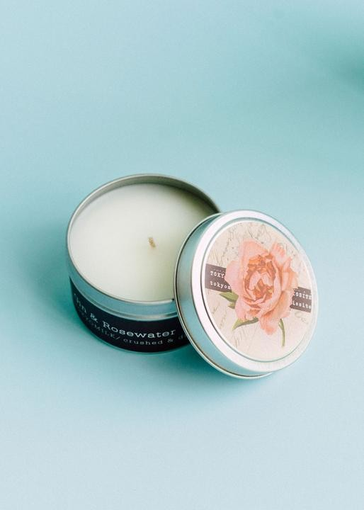 TokyoMilk Gin & Rosewater Travel Candle
